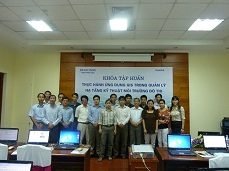 GIS Training on urban technical infrastructure in Ha Noi